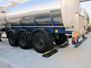 bloqueur de roue de camion
